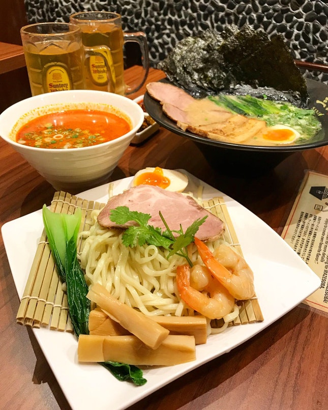 Tom Yum Tsukemen ($15.90++)