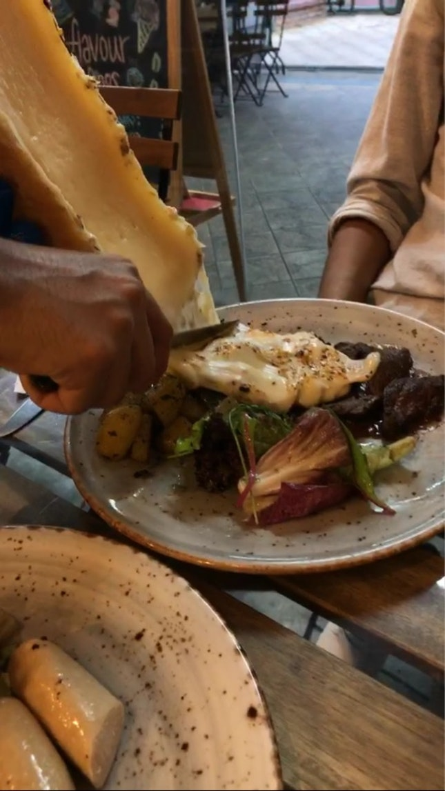 Beef Steak And Raclette