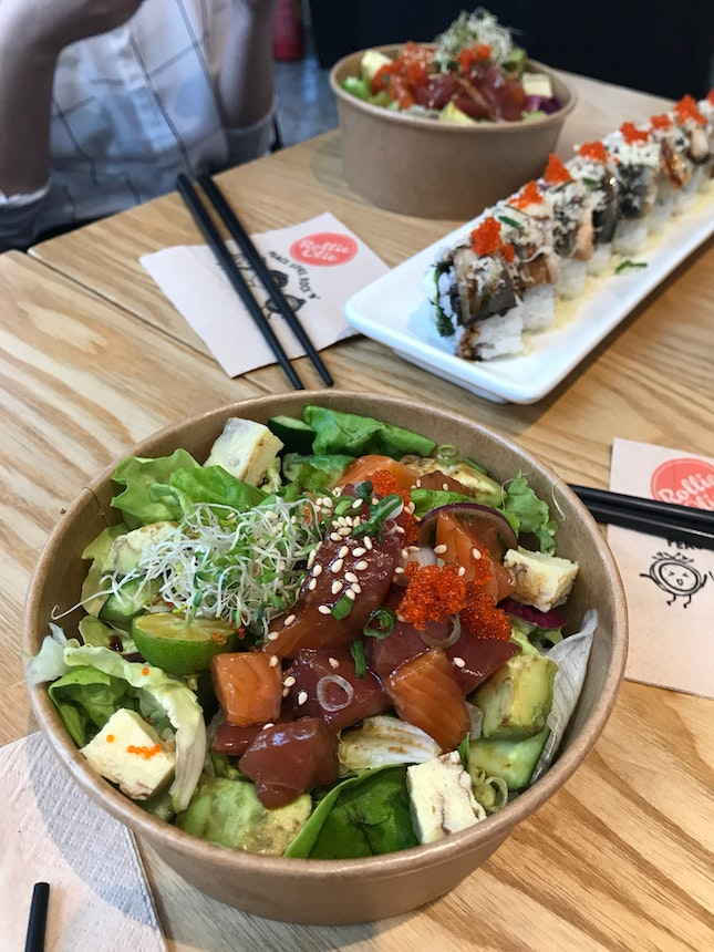 Aloha Poke Bowl And Dos Amigos