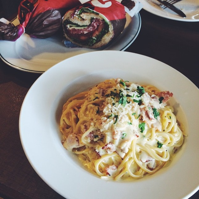 My love for carbonara.