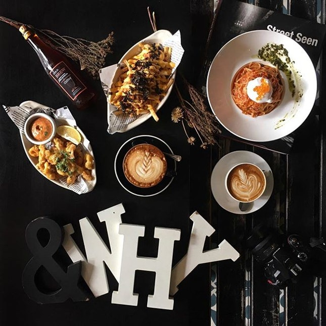 Runs by the same team that owns I am Cafe, &why (read: NY or New York) now serves new brunch menu.