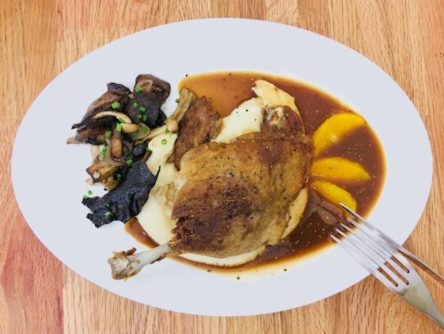 Duck Confit (part Of The 3-course $22 Lunch Set)