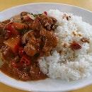 Taiwan Curry Chicken Rice 台湾咖喱鸡饭