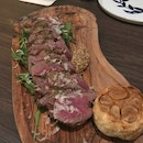 Grilled Angus Beef Tagliata with Rucola and Parmigiano Salad [$48]