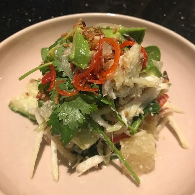 Blue Swimmer Crab & Pomelo Salad [$14]