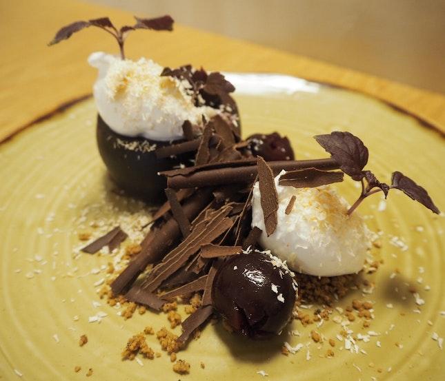 Black Forest | Dark Chocolate, Maraschino Cherry [$14]