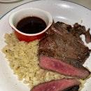 Steak with Cauliflower rice [$18.90]