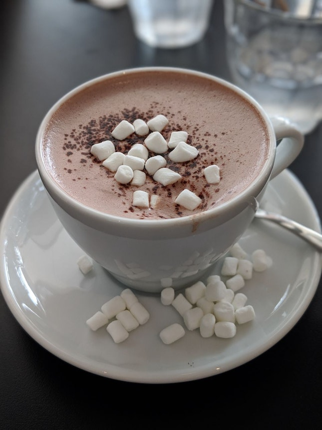 Peppermint Hot Chocolate ($6)