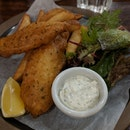 Cod Fish & Chips ($28)