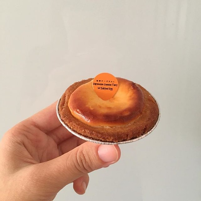 Looks like BAKE cheese tart but they have more flavours like matcha, chocolate, salted egg.