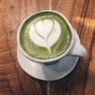 Love how this matcha latte comes totally unsweetened.