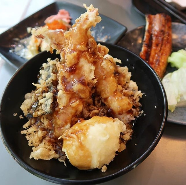 Tendon ($10.90) that was so so but it is the cheapest i ever had.