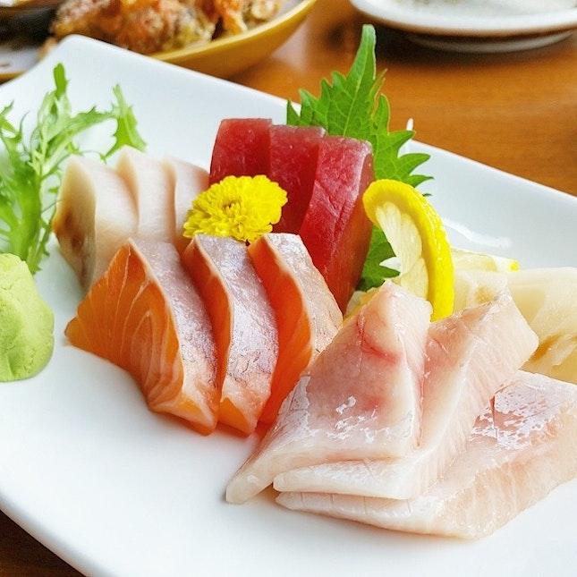 Throwback sashimi from amazing En japanese buffet.