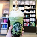 Matcha Earl Grey Jelly Frappuccino + Cookie Straw