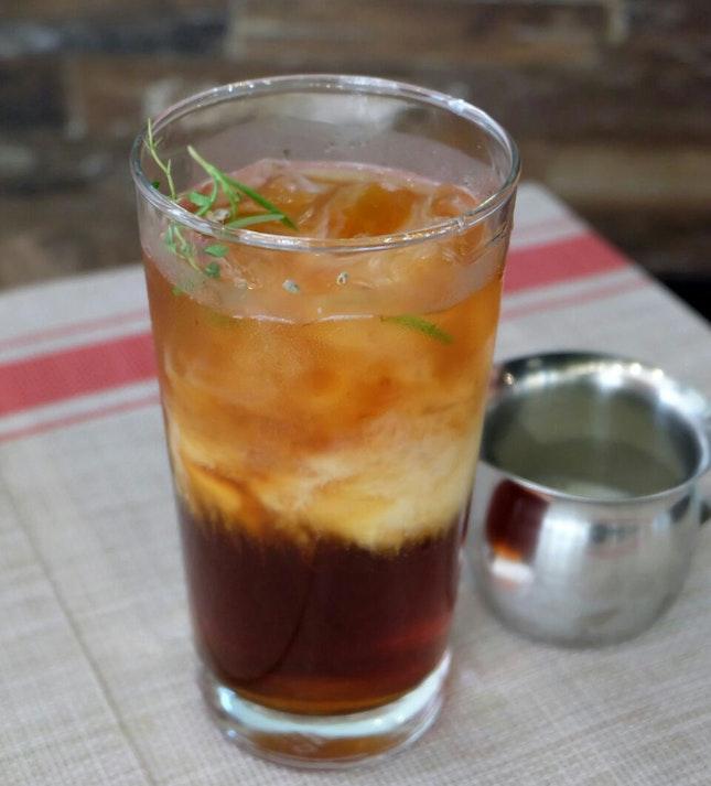 Provencal Iced Milk Tea