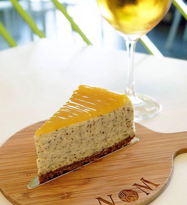 Earl Grey Lemon Cheesecake and Cold Brew Dilmah Chamomile Tea