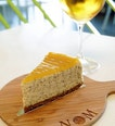 Earl Grey Lemon Cheesecake and Cold Brew Dilmah Chamomile Tea