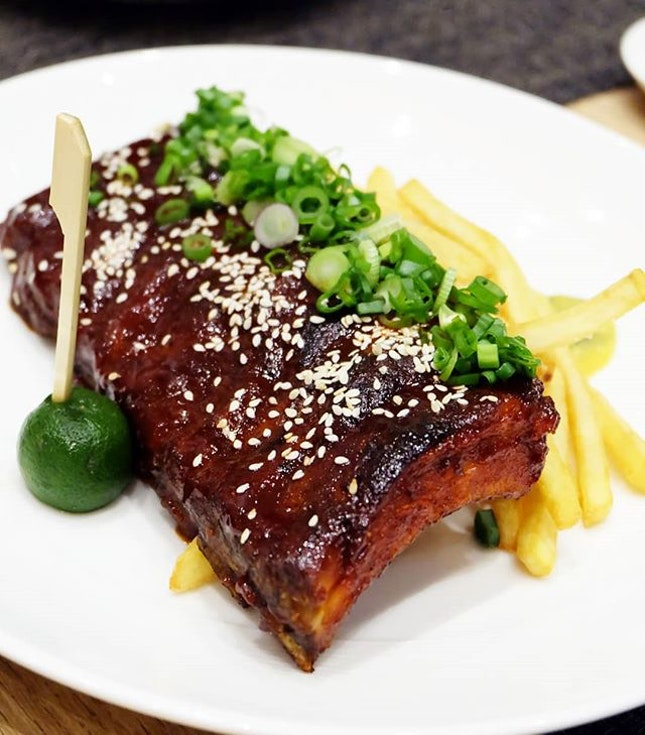 Char Siew Barbeque Ribs