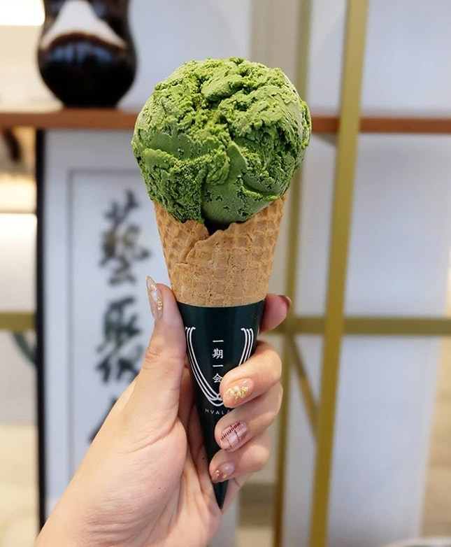 Matcha°2  Setting my sights on Hvala's matcha ice cream with varied intensities from the get-go, I finally got down to trying one from the series.