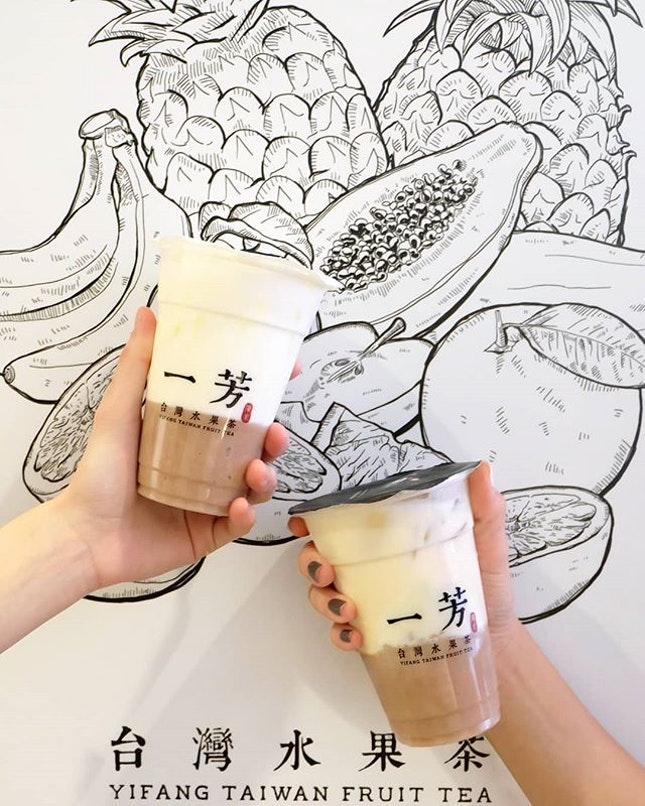 Taro Latte & Taro Green Tea Latte