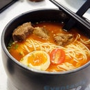 Braised Wagyu Beef Noodle in Signature Tomato Soup