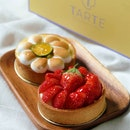 Calamansi-Meringue Tart & Strawberry Tart