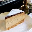 Dark Chocolate Banana Cheesecake