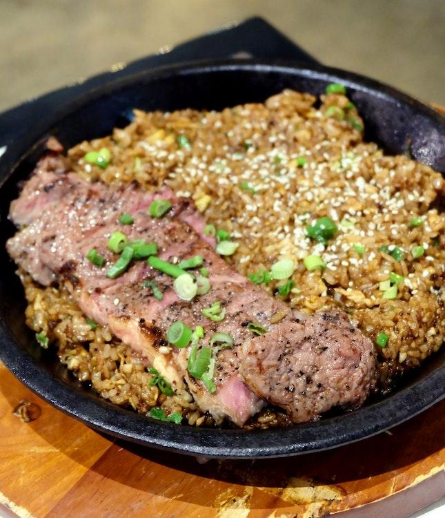 Steak & Scorched Rice