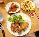 Fried Chicken Fried Chicken Fried Chicken 🍗  Great Food as Always  With @billyngkh and @zahrannorzehan  #friedchicken #deepfried #fried #cheese #fixsg #lunch #lunchtime #sgfood #sgfoodies #sgfoodporn #foodporn #food #foodie #foodsg #thegrowingbelly #peanutloti #burpple #burpplesg #foodstagram #sgig #foodie #instafood #whati8today #instafoodsg #8dayseat #sg #delicious#foodpic #foodpics