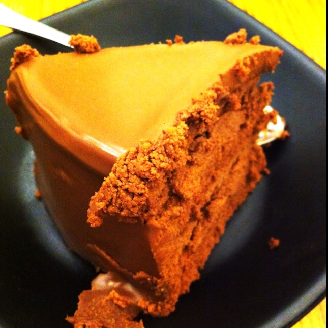 This is chocolate - in a cake form.