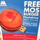 MOS Burger promo