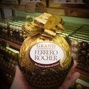 Honey, I blew up the Ferraro Rocher!! 😍😍