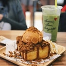 Thai Milk Tea Toast