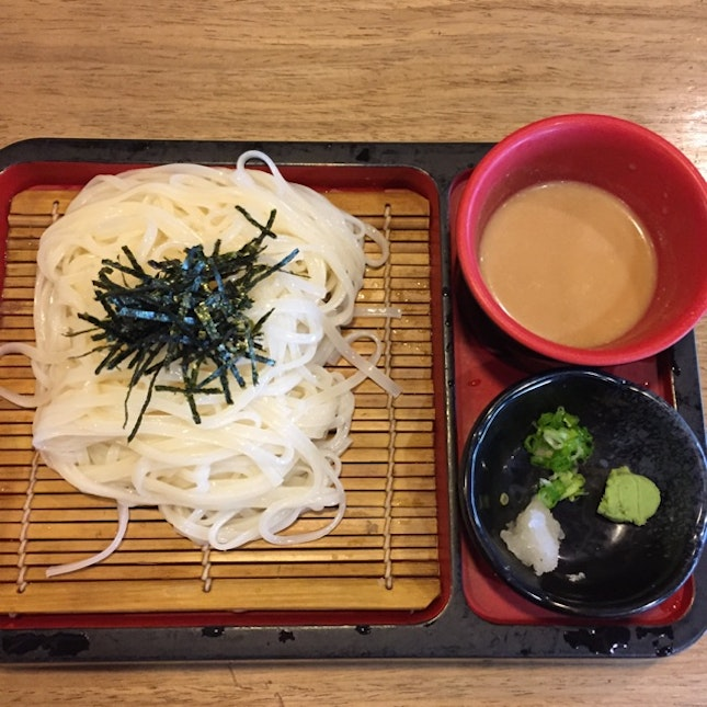 Thin Udon With Duck Dipping Sauce
