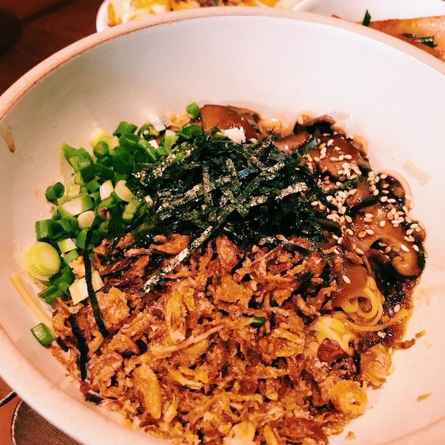 Miso Mushroom Noodle