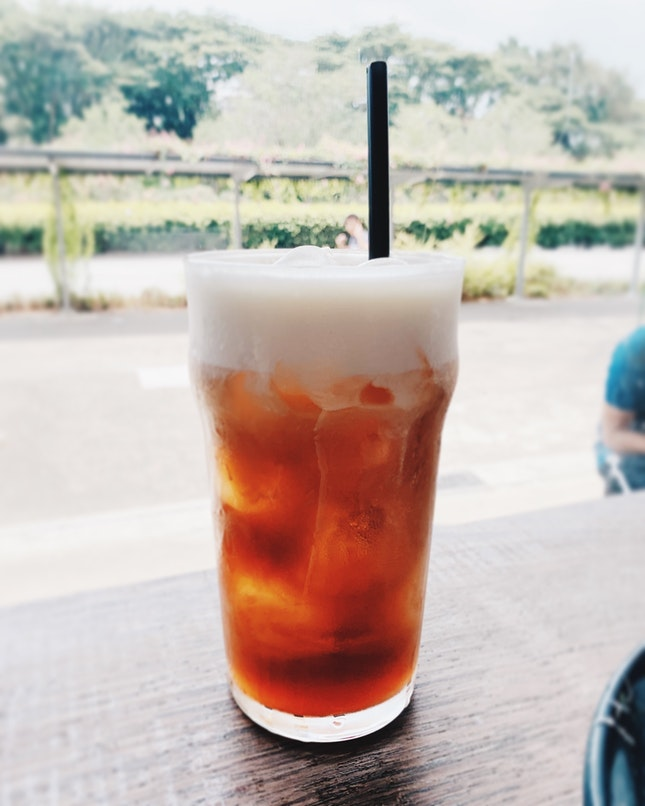 Iced Tea Macchiato