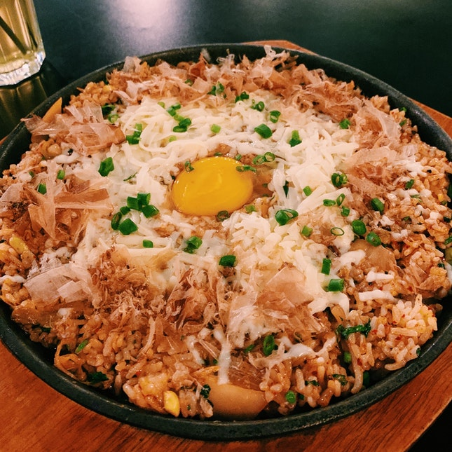 Kimcheese Fried Rice