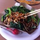 Have you eaten char kway tiao with so much vege on top?