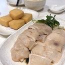 Steamed Chicken (2 Pax) & Crispy Beancurd