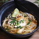 Tom Yum Chicken Noodle Soup