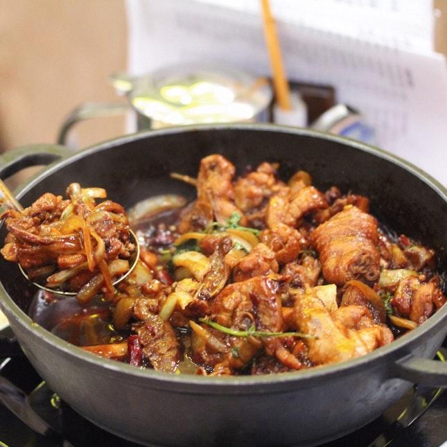 雞煲 (Chicken Pot)