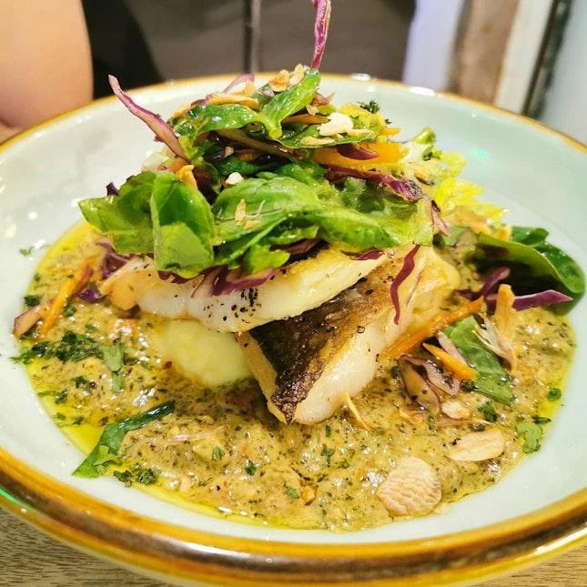 Pesto Cream Dory Fish (Burpple Beyond 1-for-1)