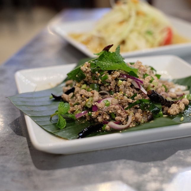 While The Som Tam Was Disappointing, This Minced Pork Dish Was Just Fabulous