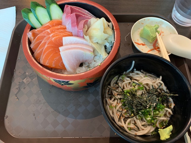 Chirashi Lunch Set