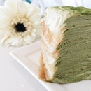 Matcha Layers Flower.
