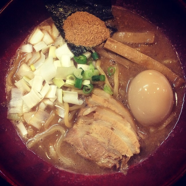 Ramen again to counter the cold.