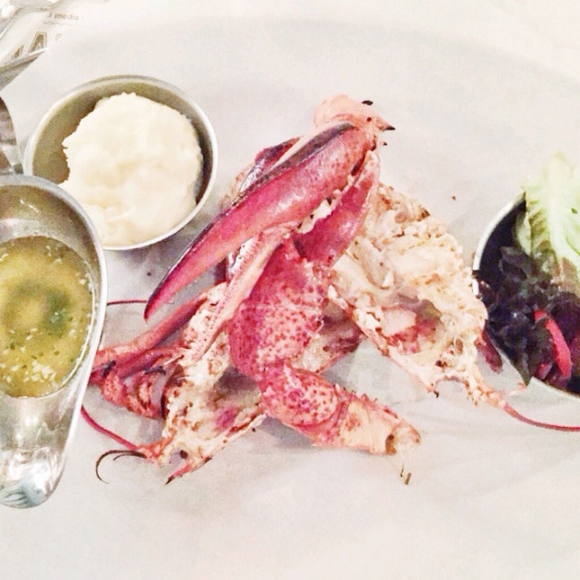 Whole Lobster ($45)