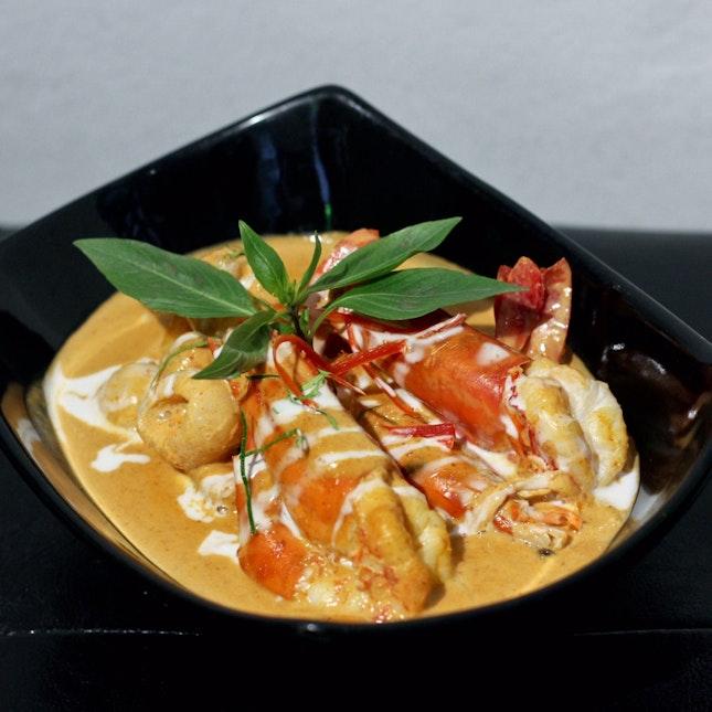 Tiger Prawn Panang Curry ($28)