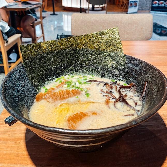 A Bowl of Premium Tonkotsu $12.80+