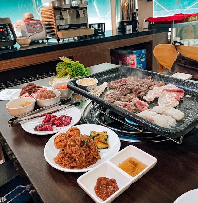 Tasty Korean BBQ at Tanjong Katong